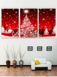 Unframed Christmas Printed Canvas Paintings -
