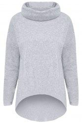 Drop Shoulder Pullover Sweatshirt -