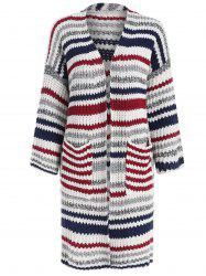 Pocket Striped Cardigan -