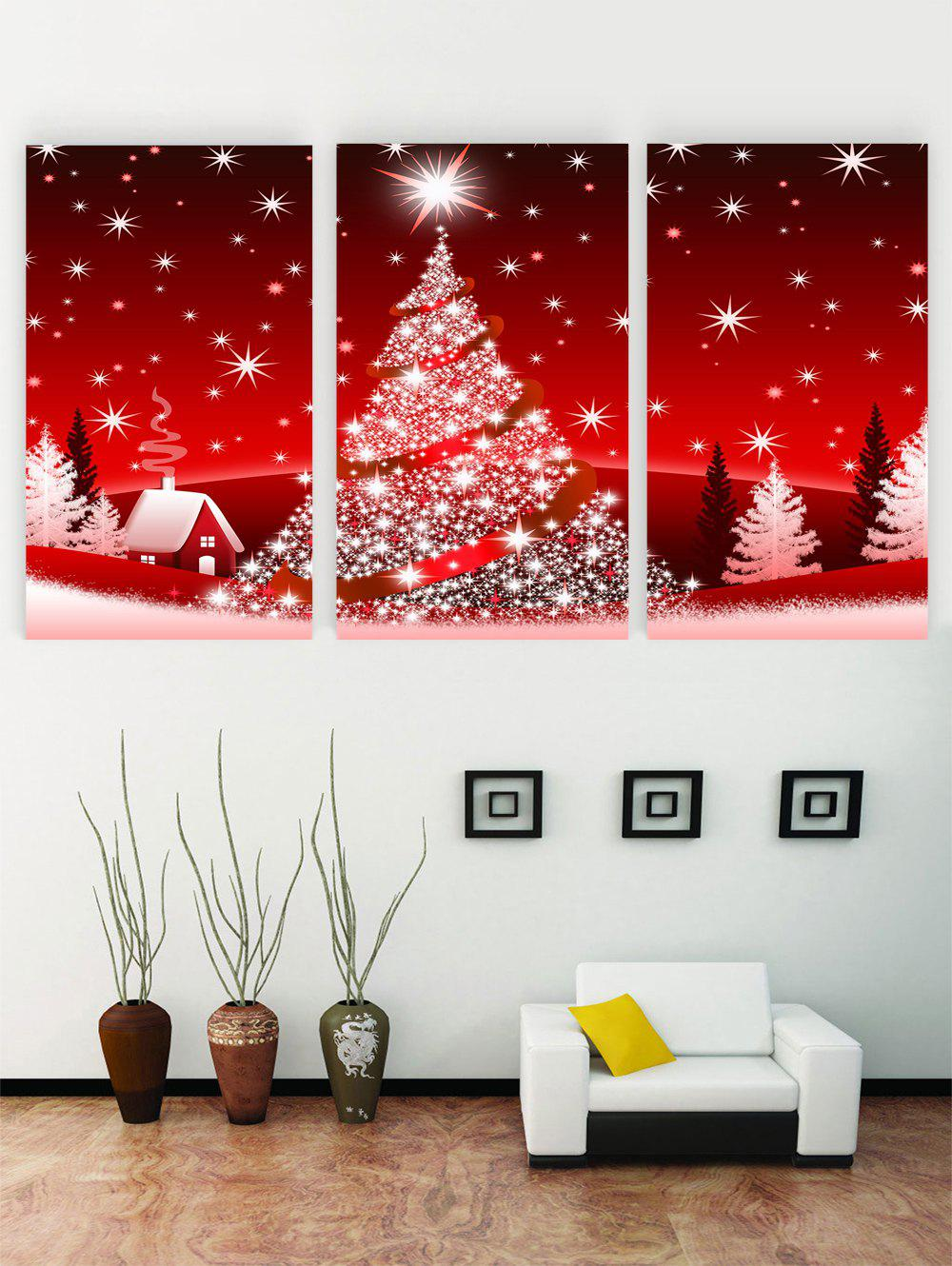 Cheap Unframed Christmas Printed Canvas Paintings