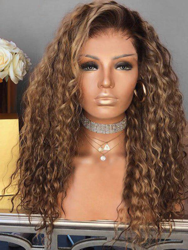 Best Short Side Bang Colormix Curly Party Synthetic Wig
