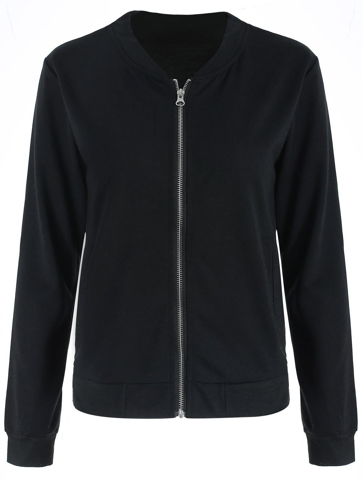 Trendy Zip Up Jacket