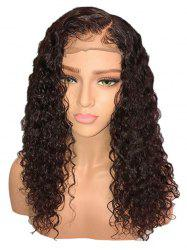 Long Side Parting Curly Synthetic Lace Front Wig -