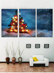 Unframed Christmas Tree Print Canvas Paintings -