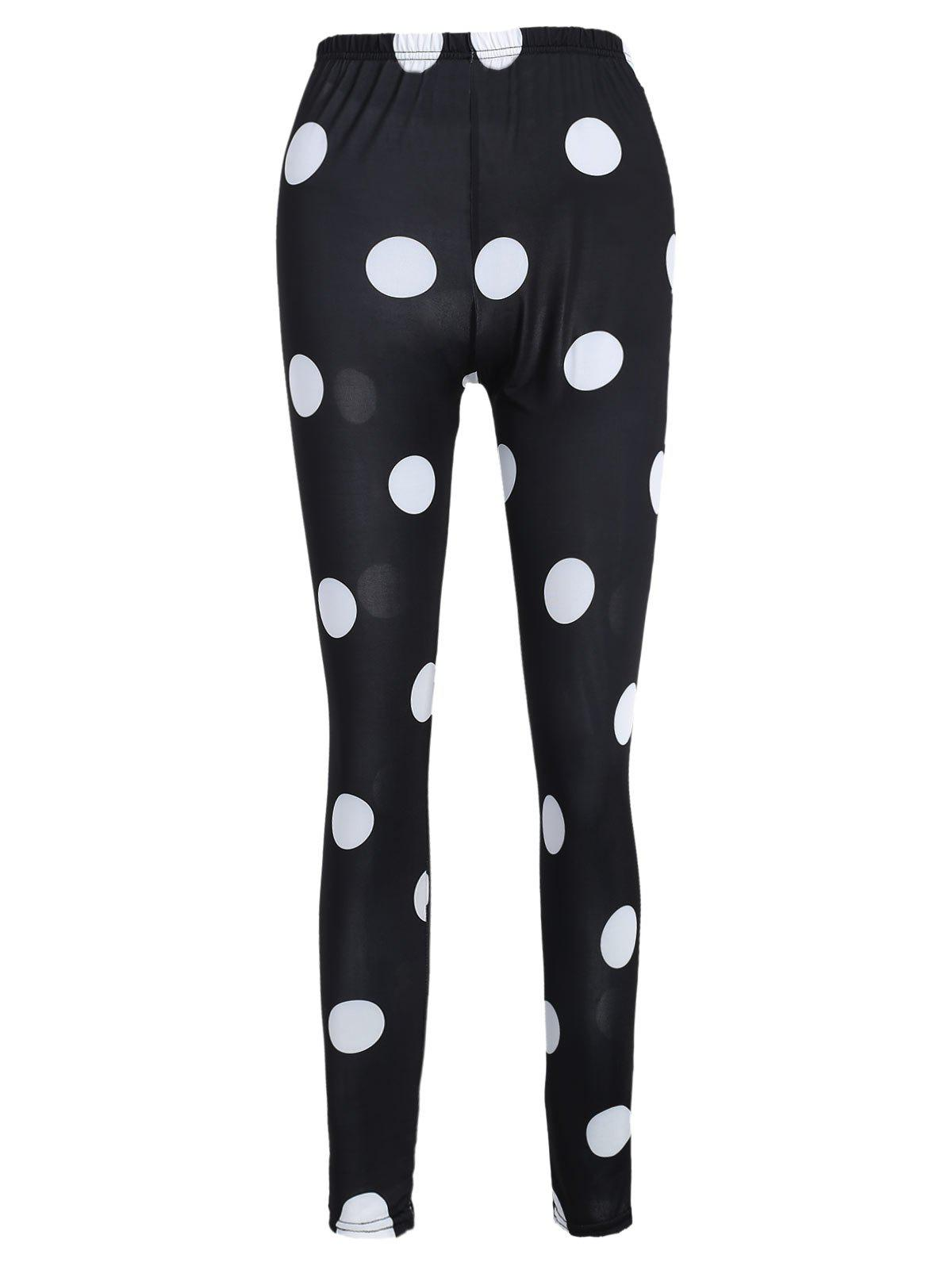 Discount Polka Dot Print Leggings