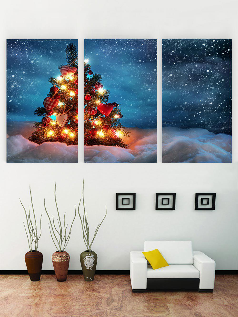 Sale Unframed Christmas Tree Print Canvas Paintings