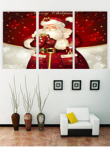 Unframed Father Christmas Printed Canvas Paintings