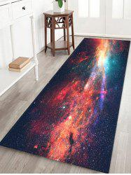 Starry Sky Galaxy Pattern Water Absorption Area Rug -