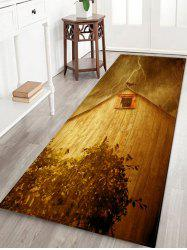 House Birds Pattern Water Absorption Area Rug -