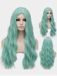 Middle Part Long Natural Wavy Synthetic Anime Lolita Wig -