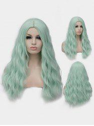 Long Center Parting Natural Wavy Party Lolita Synthetic Wig -