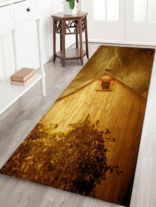 New House Birds Pattern Water Absorption Area Rug