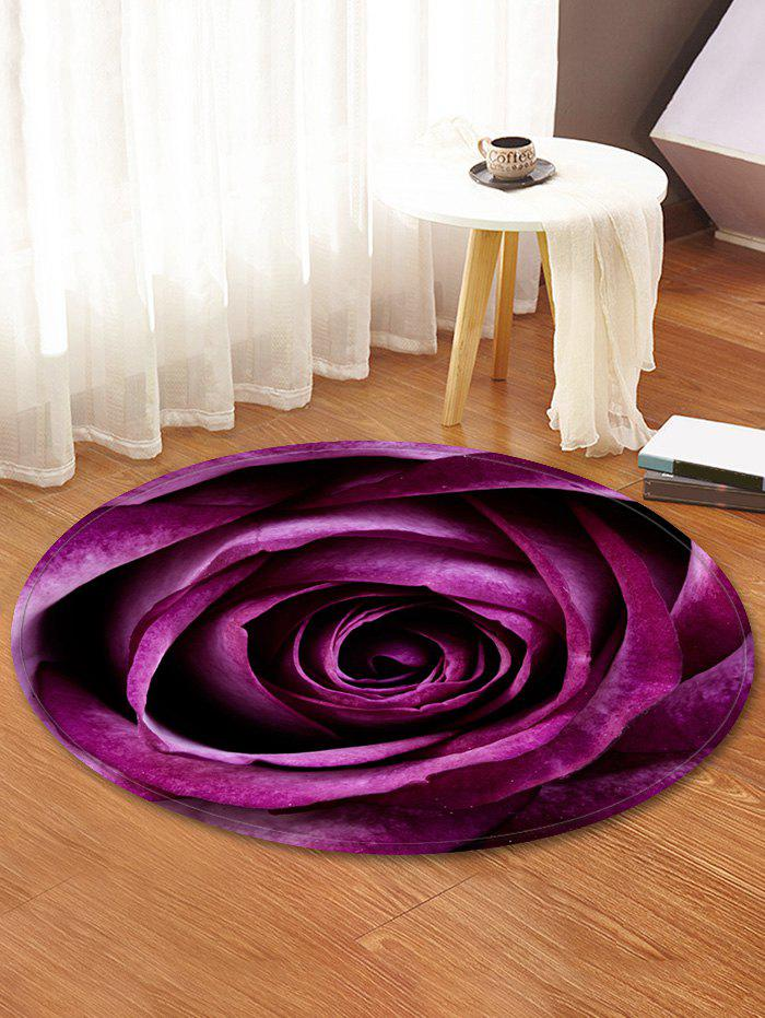 Cheap Rose Pattern Water Absorption Area Rug