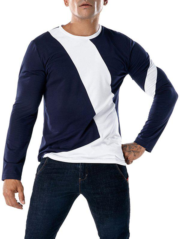 Shop Color Blocking Long Sleeve Tee
