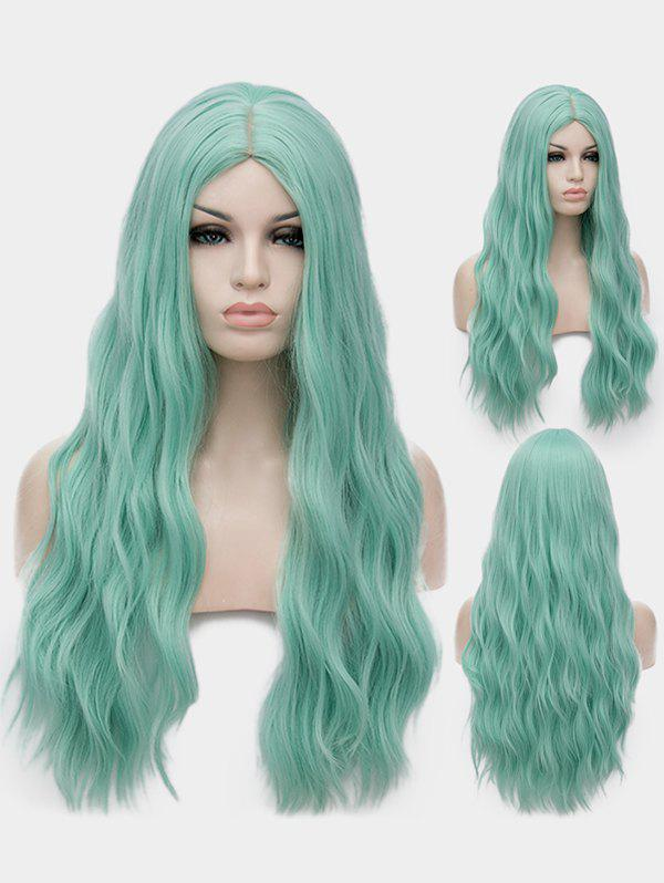 Fancy Middle Part Long Natural Wavy Synthetic Anime Lolita Wig
