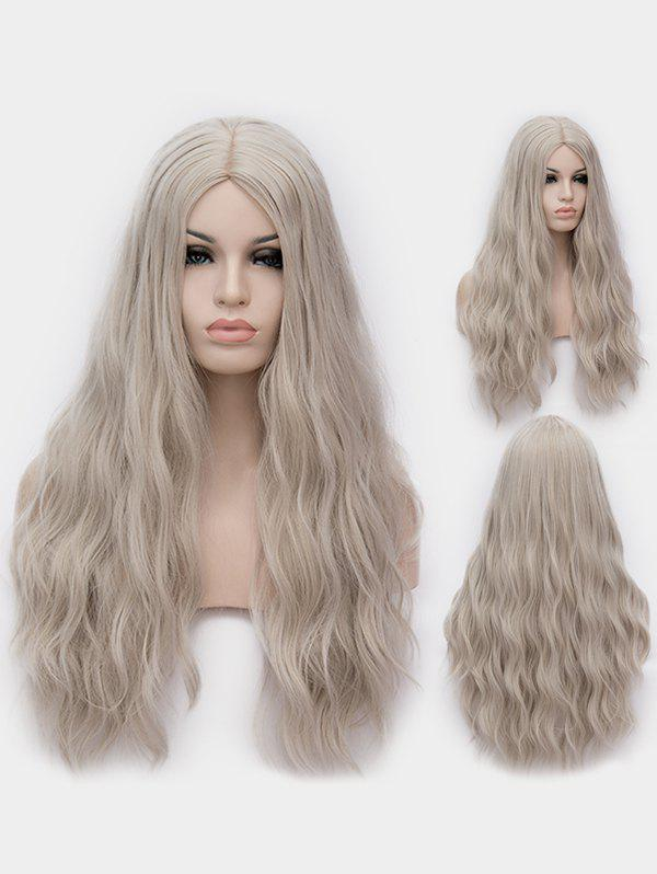 Shops Middle Part Long Natural Wavy Synthetic Anime Lolita Wig