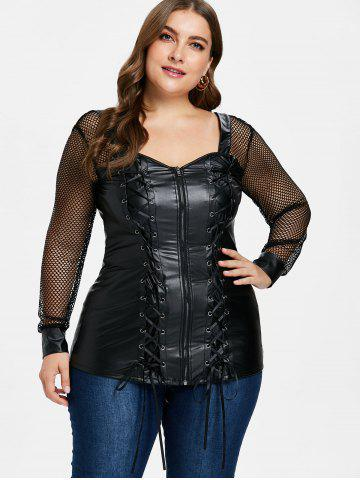 Plus Size Black Leather Shorts Free Shipping Discount And Cheap