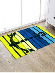 Anchor Colorful Pattern Water Absorption Area Rug -