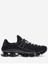 Lace Up Breathable Running Sneakers -