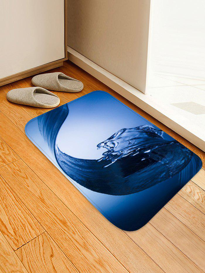 Outfits Water Wave Pattern Water Absorption Area Rug