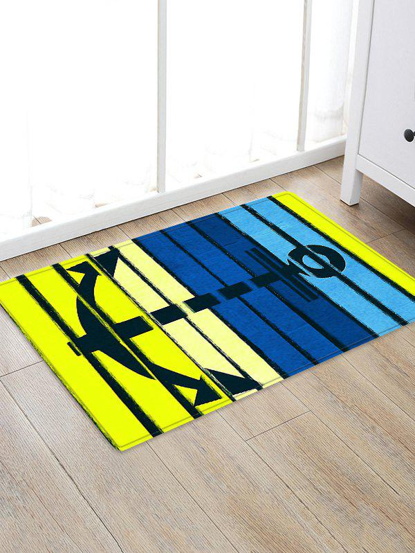 Shops Anchor Colorful Pattern Water Absorption Area Rug