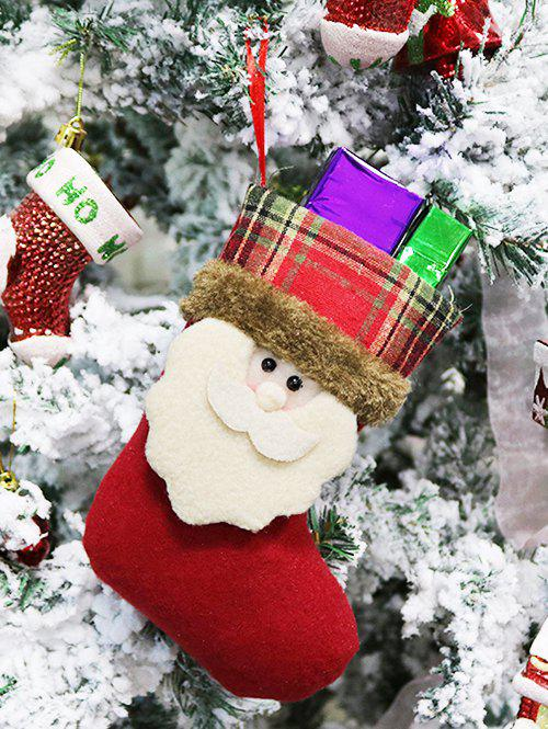 Hot Christmas Theme Santa Claus Hanging Stocking Decor