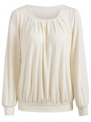 Full Sleeve Ruched Blouse -