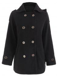 Double Breasted Felted Coat -