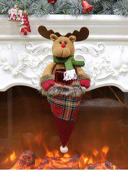 Christmas Hat Theme Elk Hanging Decor Gift Doll -