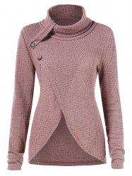 Buttoned Front Sweater -