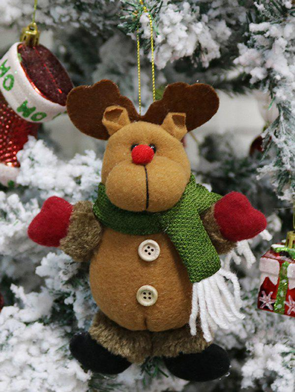 Affordable Christmas Theme Elk Hanging Decoration Gift Doll