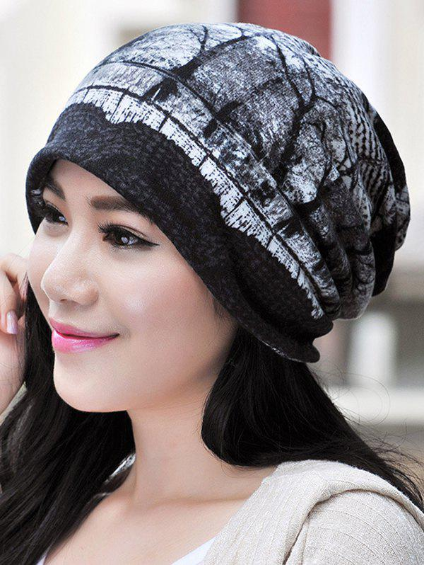 Shop Multifunction Jacquard Pattern Scarf Cap