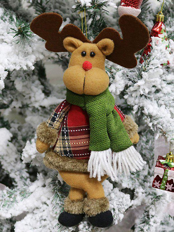 Outfits Christmas Theme Elk Shaped Hanging Decor Doll