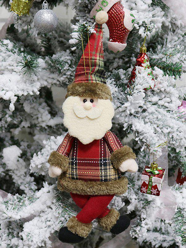 Hot Christmas Theme Santa Claus Shaped Hanging Decoration Gift Doll