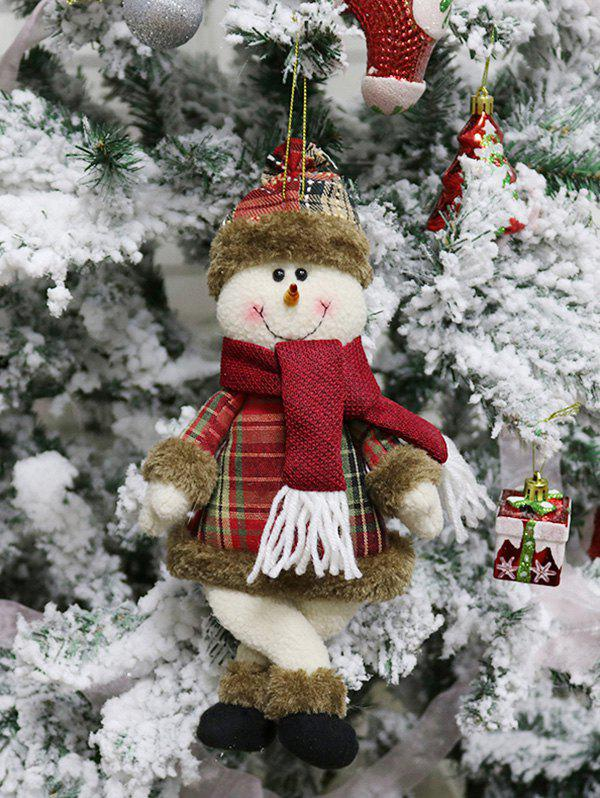 Buy Christmas Theme Snowman Shaped Hanging Decoration Gift Doll