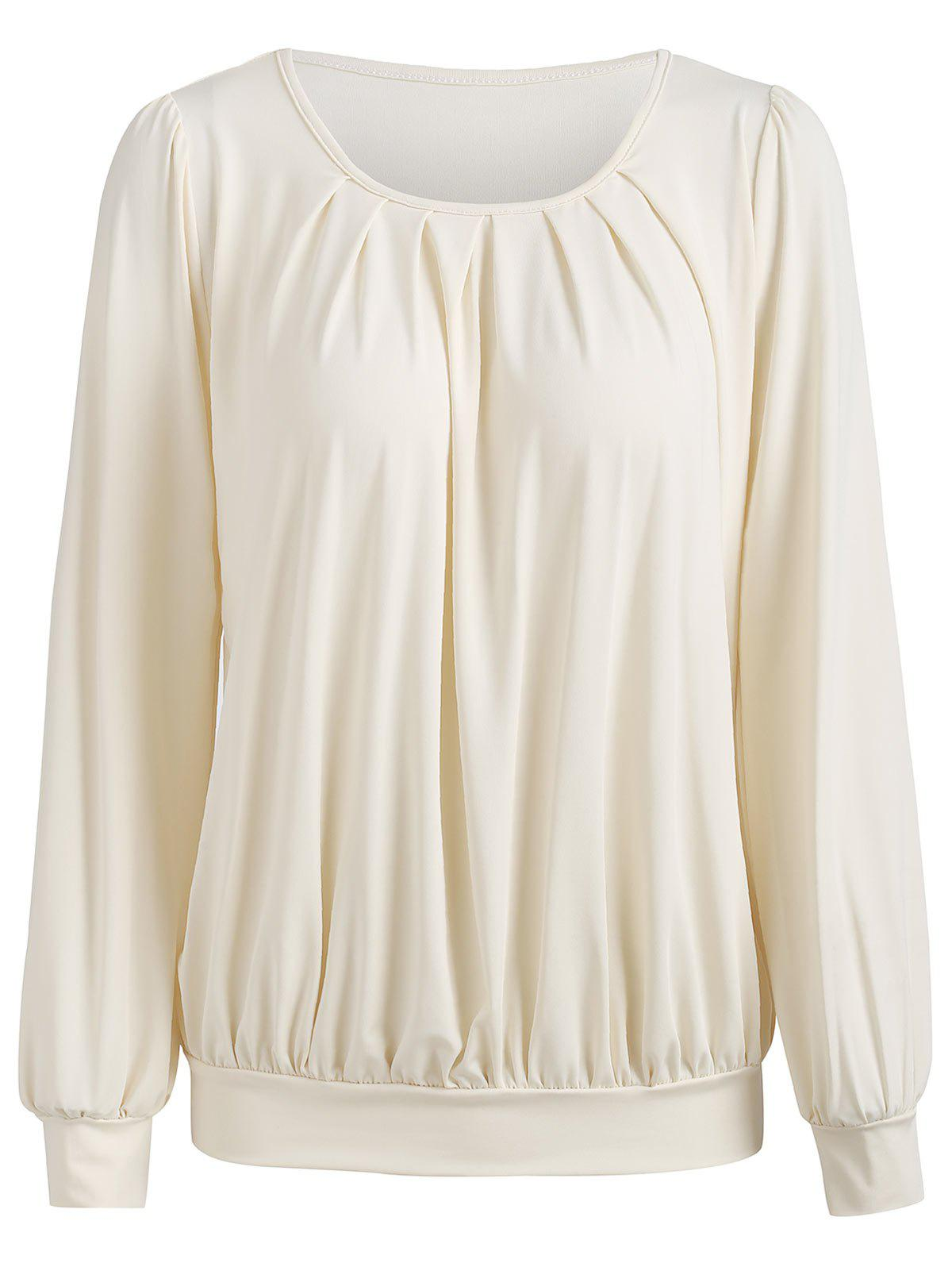 Buy Full Sleeve Ruched Blouse