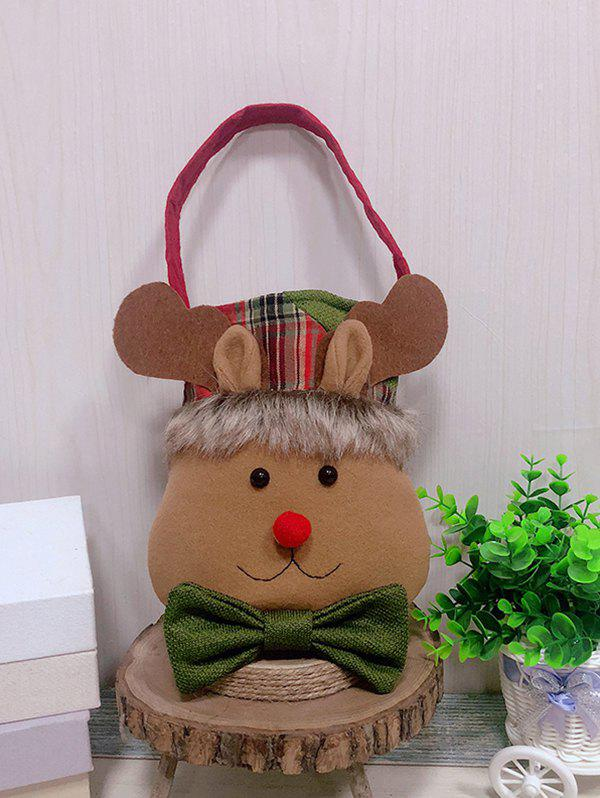Outfits Christmas Theme Elk Pattern Decoration Candy Bag