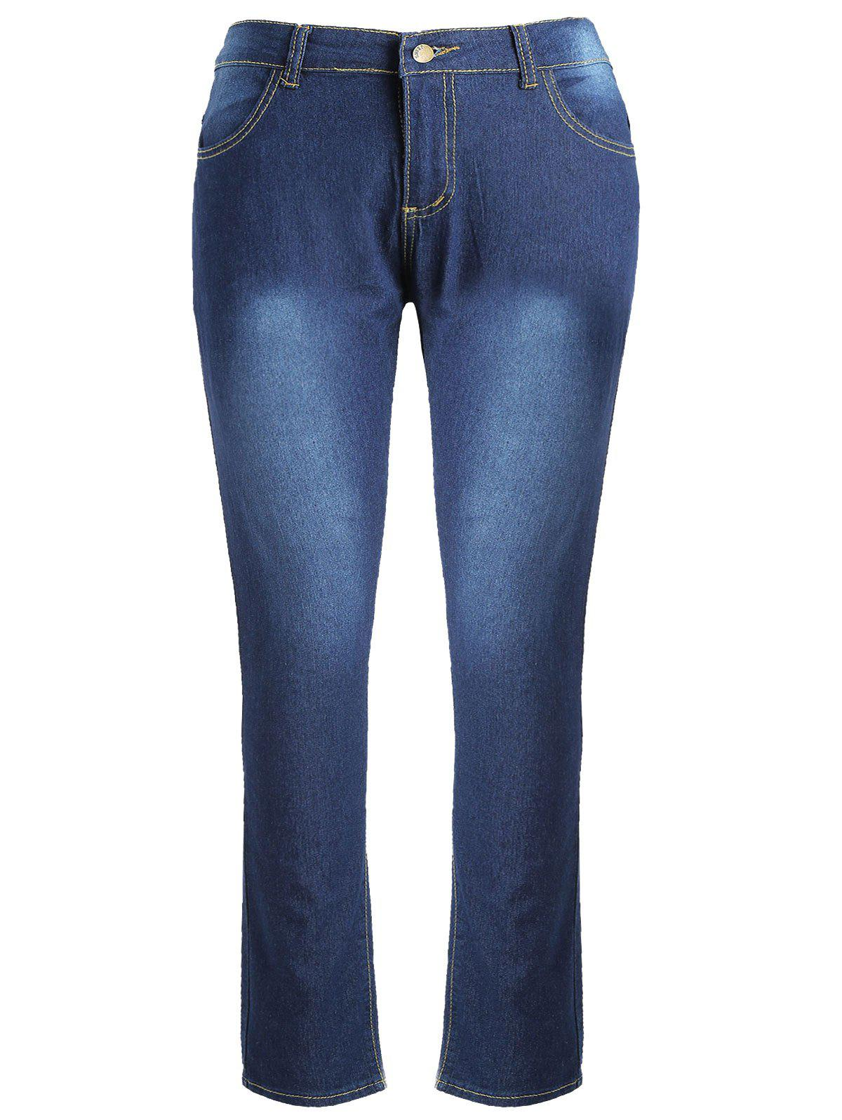 Store High Waist Plus Size Skinny Jeans