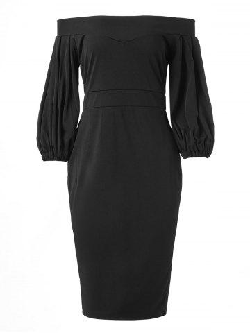 Off The Shoulder Slim Fit Dress