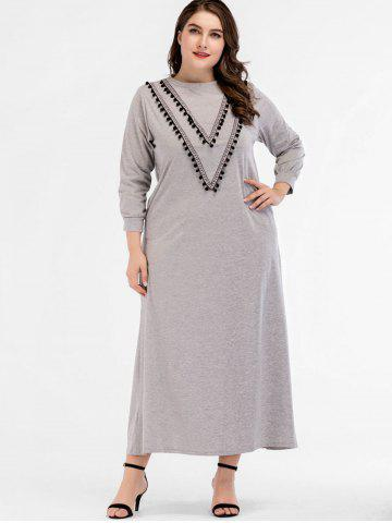 Plus Size Ankle Length Dress - Free Shipping, Discount And Cheap ...
