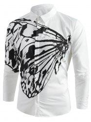 Butterfly Pattern Shirt -