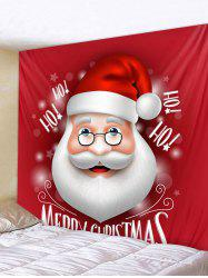 Merry Christmas Santa Claus Wall Tapestry Art Decor -