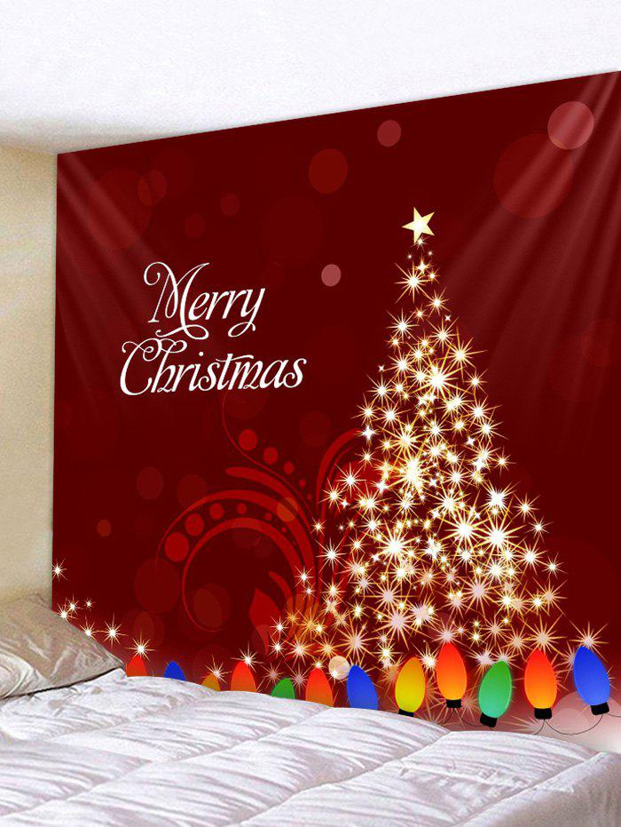 Outfit Merry Christmas Tree Wall Tapestry Art Decor