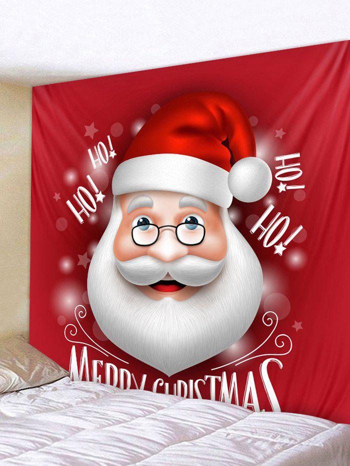 Discount Merry Christmas Santa Claus Wall Tapestry Art Decor