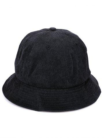 Striped Pattern Solid Color Fisherman Hat