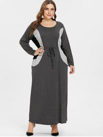 3c28b20f29df4 Gray Maxi Dress - Free Shipping, Discount And Cheap Sale | Rosegal