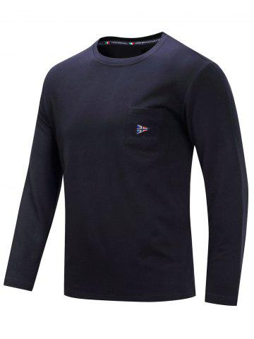 Chest Pocket Long Sleeve T-shirt