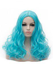 Long Center Parting Curly Synthetic Party Cosplay Wig -