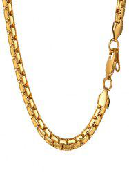 Stainless Steel Chain Necklace -