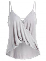 Cami Strap Ladder Front Tank Top -